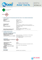 Albee Cool Safety Datat Sheet